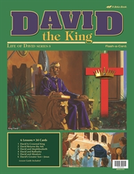 David the King Flash-a-Card
