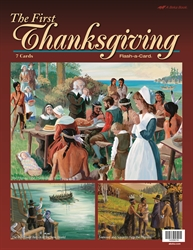 The First Thanksgiving Flash-a-Card