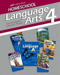 Homeschool Language Arts 4 Curriculum Lesson Plans