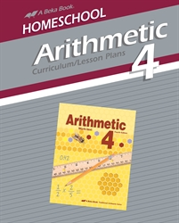 Homeschool Arithmetic 4 Curriculum Lesson Plans