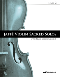 Jaffe Violin Sacred Solos Level 2 (Includes CD)