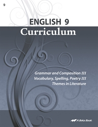English 9 Curriculum