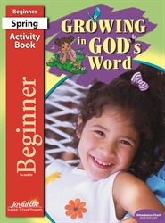 Growing in God's Word Beginner Activity Book
