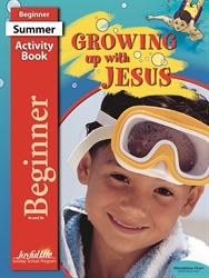 Growing Up with Jesus Beginner Activity Book