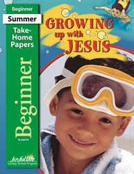 Growing Up with Jesus Beginner Take-Home Papers