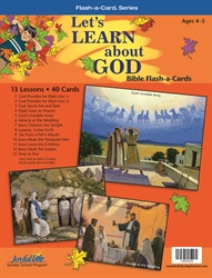 Let's Learn About God Beginner Bible Stories