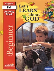Let's Learn About God Beginner Activity Book