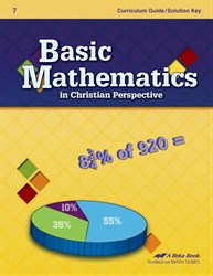 Basic Mathematics Curriculum/Solution Key