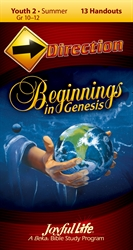 Beginnings in Genesis Youth 2 Direction Student Handout