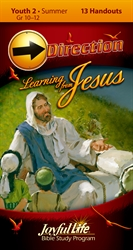 Learning from Jesus Youth 2 Direction Student Handout