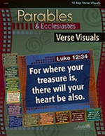Parables & Ecclesiastes Key Verse Visuals