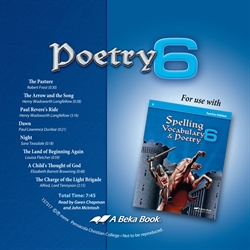 Poetry 6 Replacement CD