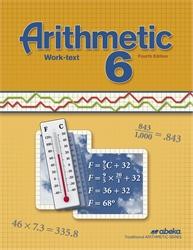 Abeka | Product Information | Arithmetic 6