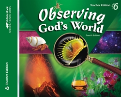 Observing God's World Teacher Edition