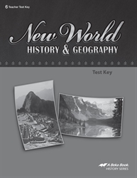 New World History and Geography Test Key