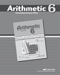 Arithmetic 6 Curriculum