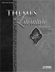 Themes in Literature Quiz and Test Key