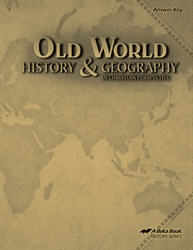 Old World History and Geography Answer Key