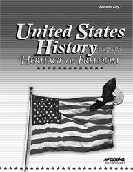 Abeka Product Information United States History Heritage Of
