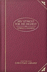My Utmost for His Highest—Deluxe Classic Edition (Red)