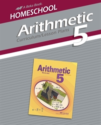 Homeschool Arithmetic 5 Curriculum Lesson Plans