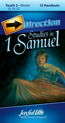 Studies in 1st Samuel Youth 2 Direction Student Handout
