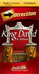 King David & Solomon Youth 2 Direction Student Handout