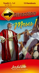 Moses I Youth 2 Direction Student Handout