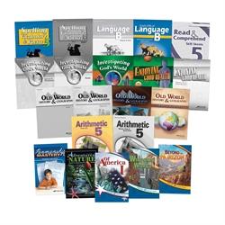 Abeka Product Information Grade 5 Child Kit