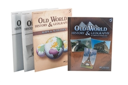Abeka product information old world history and geography grade 5 history child kit gumiabroncs Gallery