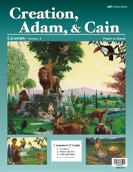 Creation, Adam, and Cain Flash-a-Card