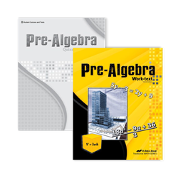 Pre-Algebra Video Student Kit
