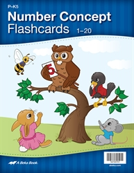 Numbers Concept Flashcards