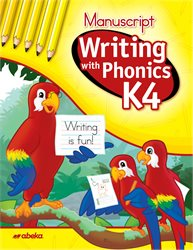 Writing with Phonics K4 Manuscript