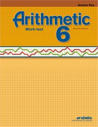 Arithmetic 6 Answer Key