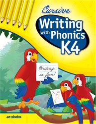 Writing with Phonics K4 Cursive  (Unbound)