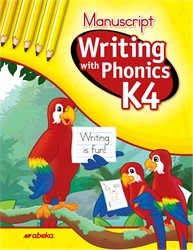 Writing with Phonics K4 Manuscript  (Unbound)