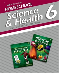 Homeschool Science and Health 6 Curriculum Lesson Plans
