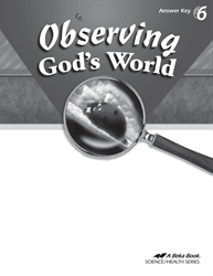 Observing God's World Answer Key
