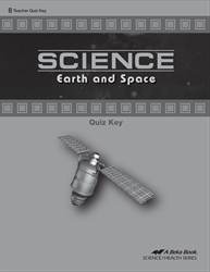 Science: Earth and Space Quiz Key