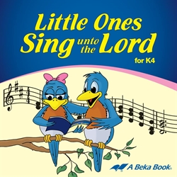 Little Ones Sing unto the Lord K4 CD