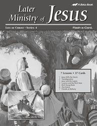Later Ministry of Jesus Lesson Guide