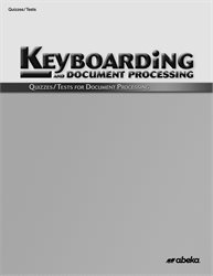Document Processing Quiz and Test Book
