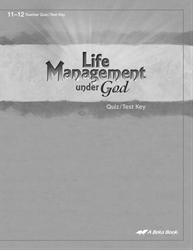 Life Management Under God Quiz and Test Key