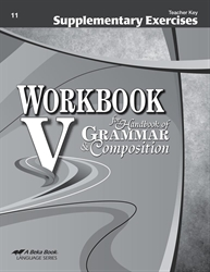 Workbook V Supplementary Exercises Teacher Key