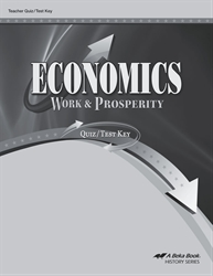 Economics Quiz and Test Key