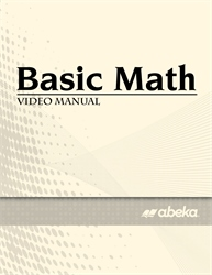 Basic Math Video Manual