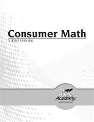 Consumer Math Video Manual