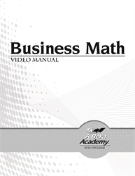 Business Math Video Manual