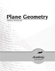 Plane Geometry Video Manual